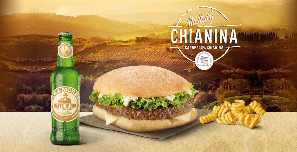 McDonald's - Mc Italy Chianina