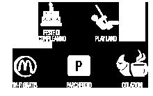 Feste di compleanno - Playland - WiFi gratis - Parcheggio - Colazioni